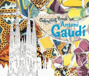 Antoni Gaudi Colouring Book - 2826778536