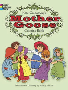 Kate Greenaway's Mother Goose Coloring Book - 2826935585