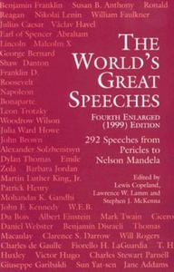 World's Great Speeches - 2864072552