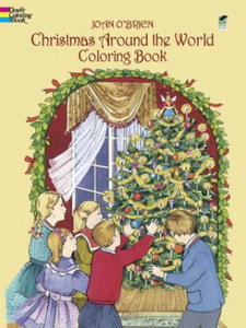 Christmas Around the World Coloring Book - 2826922733