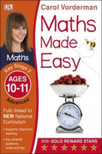 Maths Made Easy Ages 10-11 Key Stage 2 Advanced - 2854314011