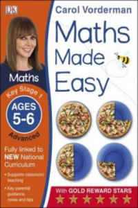Maths Made Easy Ages 5-6 Key Stage 1 Advanced - 2854225193