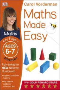 Maths Made Easy Ages 6-7 Key Stage 1 Advanced - 2854314012