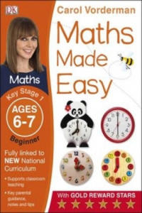 Maths Made Easy Ages 6-7 Key Stage 1 Beginner - 2854200099