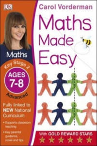 Maths Made Easy Ages 7-8 Key Stage 2 Advanced - 2827085878