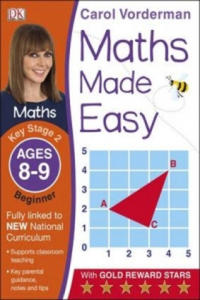 Maths Made Easy Ages 8-9 Key Stage 2 Beginner - 2854314013