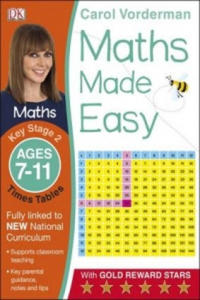 Maths Made Easy Times Tables Ages 7-11 Key Stage 2 - 2853286426
