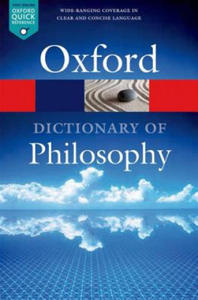 Oxford Dictionary of Philosophy - 2869365224