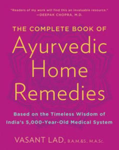 Complete Book of Ayurvedic Home Remedies - 2875768674
