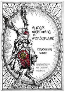 Alice's Nightmare in Wonderland Colouring Book - 2826643093