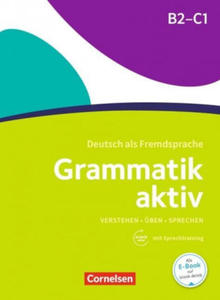 Grammatik aktiv B2-C1, m. Audio-CD - 2846570188