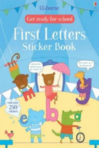 Get Ready for School First Letters Sticker Book - 2854444196