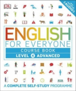 English for Everyone Course Book Level 4 Advanced - 2854442666