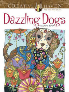 Creative Haven Dazzling Dogs Coloring Book - 2826620865