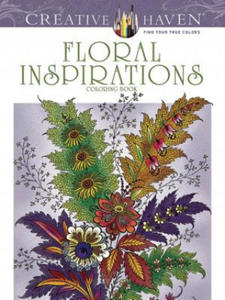 Creative Haven Floral Inspirations Coloring Book - 2834136844