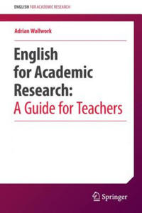 English for Academic Research: A Guide for Teachers - 2854452138