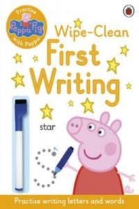 Peppa Pig: Practise with Peppa: Wipe-Clean First Writing - 2900083229