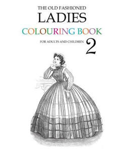 Old Fashioned Ladies Colouring Book 2 - 2835032105