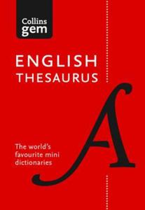 Collins Gem English Thesaurus - 2854421228
