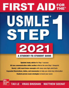 First Aid for the USMLE Step 1 2021, Thirty first edition - 2861849152