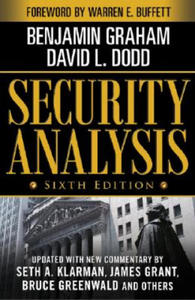 Security Analysis: Sixth Edition, Foreword by Warren Buffett - 2862624798