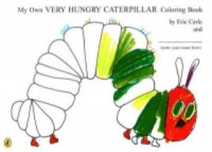 My Own Very Hungry Caterpillar Colouring Book - 2826765309