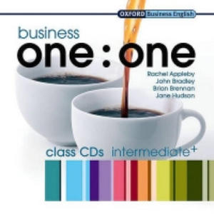 Business One: One Intermediate Class Audio CDs: Comes with 2 CDs Class CDs - 2826624045