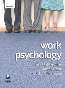 Work Psychology - 2854242129