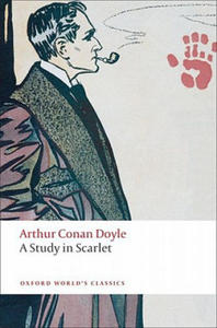 A STUDY IN SCARLET (Oxford World's Classics New Edition) - 2826688511