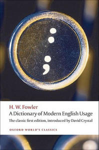 Dictionary of Modern English Usage - 2826692089