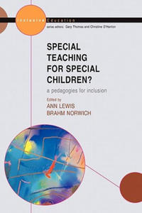 Special Teaching for Special Children? Pedagogies for Inclusion - 2854259768