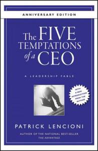 Five Temptations of a CEO - 2854224153