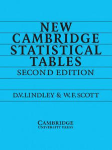 New Cambridge Statistical Tables - 2854255382