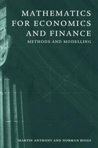 Mathematics for Economics and Finance - 2847098584