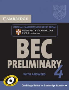 Cambridge BEC 4 Preliminary Self-study Pack (Student's Book - 2854262333