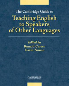 The Cambridge Guide to Teaching English to Speakers of Other Languages - 2826633246