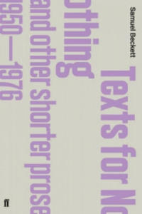 Texts for Nothing and Other Shorter Prose, 1950-1976 - 2843293897