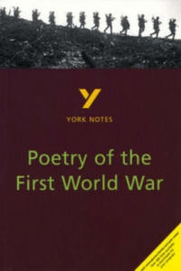 York Notes on Poetry of the First World War - 2854263035
