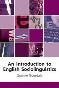 Introduction to English Sociolinguistics - 2854264618