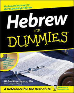Hebrew For Dummies - 2826628631