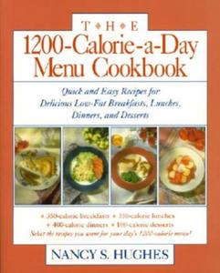 1200-Calorie-A-Day Menu Cookbook - 2854190262
