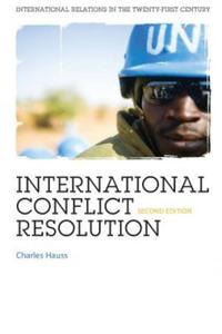 International Conflict Resolution - 2854580008