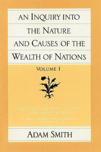 Inquiry into the Nature and Causes of the Wealth of Nations - 2854379734