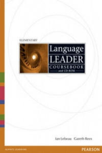 Language Leader Elementary Coursebook and CD-Rom Pack - 2826697103