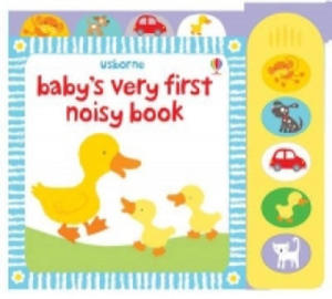 Baby's Very First Noisy Book - 2826720347