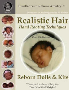 Realistic Hair for Reborn Dolls & Kits: Hand Rooting Techniq - 2834151796