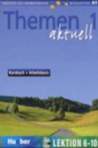 Kursbuch + Arbeitsbuch, Lektion 6-10, m. Audio-CD - 2826676760