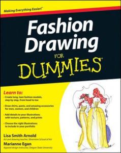 Fashion Drawing For Dummies - 2826656413