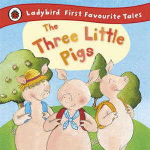 Three Little Pigs: Ladybird First Favourite Tales - 2869393823