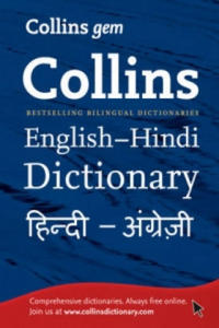 Collins Gem English-Hindi/Hindi-English Dictionary - 2826910325